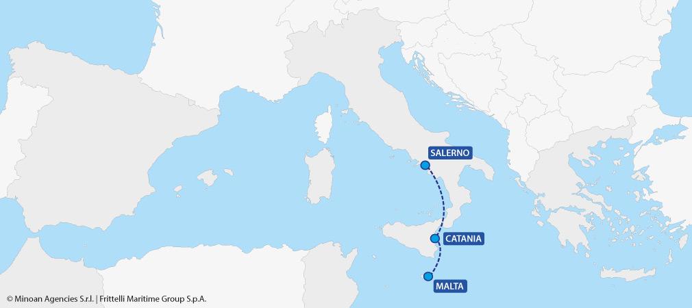 Cartina Di Malta Da Stampare.Traghetti Per Malta Orari Prezzi E Offerte Sui Biglietti