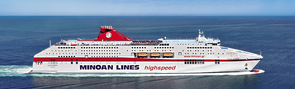 minoan lines italy greece booking on line agencies