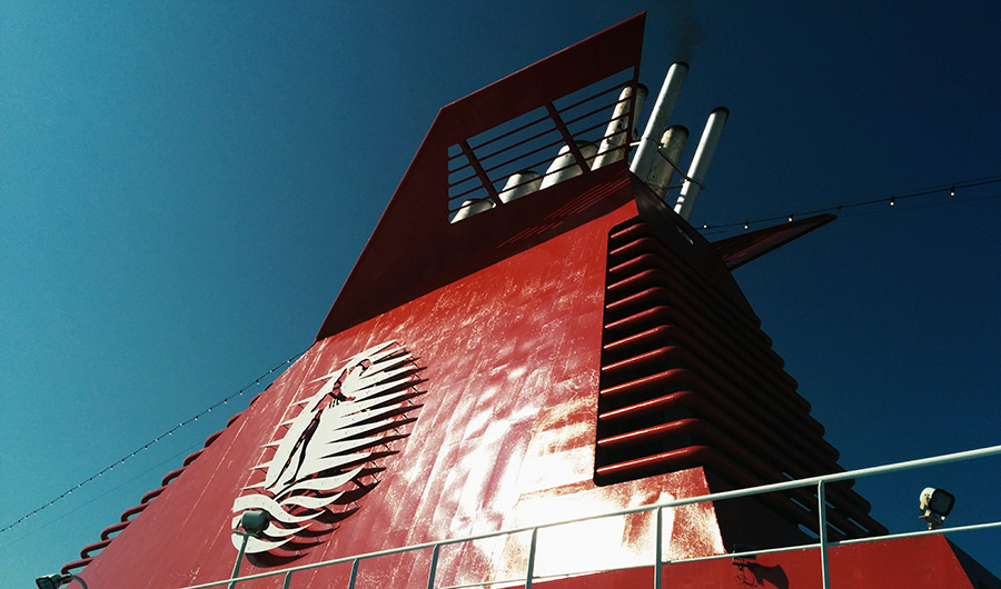 ship chimney cruise europa minoan lines
