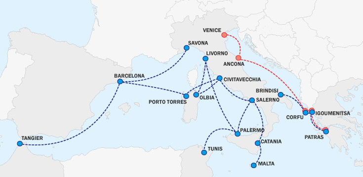 Grimaldi Lines | Book your cheap ferry ticket
