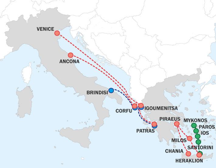 Ferries to Greece: GRIMALDI MINOAN LINES - Official Minoan Agencies ...