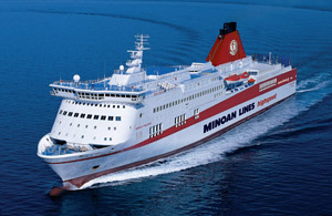 Minoan Lines offers discount return fare