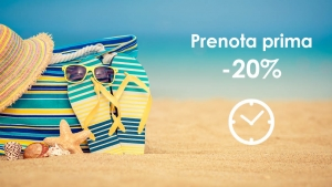 Offerta early booking estesa fino al 30 aprile