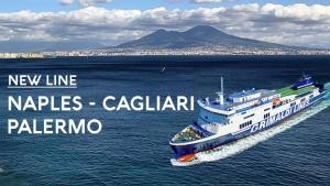 New line Naples - Cagliari - Palermo Grimaldi Lines