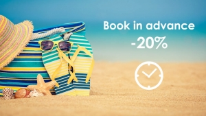 Early booking offer extended until 30 april 2021