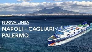 Nuova linea Napoli - Cagliari - Palermo Grimaldi Lines