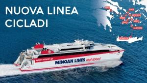 Nuova linea Pireo - Cicladi - Heraklion