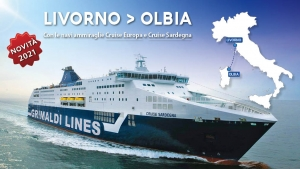 Cruise Europa e Cruise Sardegna sulla Livorno - Olbia
